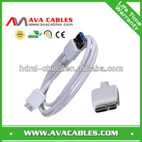 for galaxy note 3 cable data and charging usb cable for samsung note3