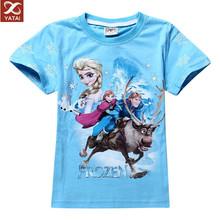 Custom-made New design kids girls t shirt