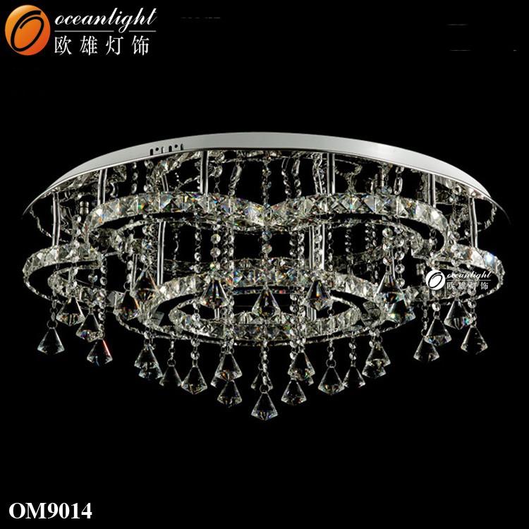2017 cristal moderna lámpara de techo lámparas decorativas ...