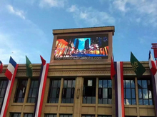 NATION STAR LED SCREEN Poland P16 Led screen Outdoor SMD 3IN1 led display module for fixed installation