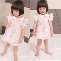 A157 Promotion Cute Fashion New Model Baby Girl Summer Dress