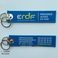 The custom wholesale advertisement keychains