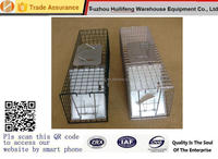 """24""""X7""""X7 Professional Style One-Door live animal Raccoons Rabbit Stray Cat trap cage Rescue Kit"""