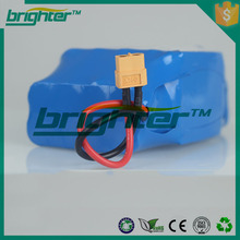 2015 popular lithium battery 18650 3.7 batteries pack for segway self balancing scooter