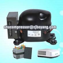 12V/24V DC compressor for solar refrigerator freezer/car fridge/portable cooler freezer