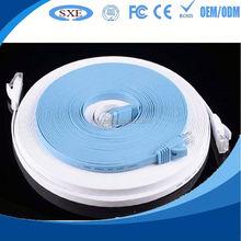 2015 High Quality fluke tested flat utp cat 5 lan cable hot selling