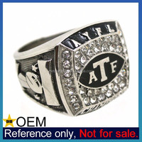 Wholesale Promotion Customized Silver Metal Masonic Ring