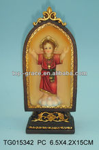 polyresin cute baby Jesus figurine