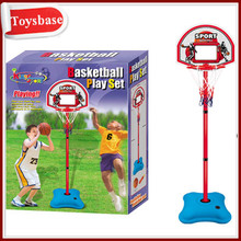 Toy basketball play set