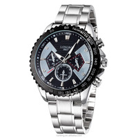 Military men full steel wristwatches dive 30m Casual watch relogio masculino