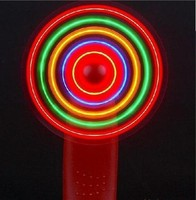 Hot sale portable led mini lighted hand fans led hand fan