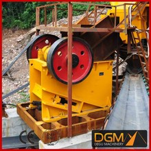 China energy saved less dust jaw crusher for quarry machine