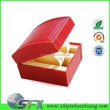 Factory paper branded watch box cushion with foam