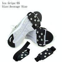 Wholesale Durable Men Silicone Snow Ice Cleats For Sale