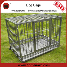 Low Price High Quality Commercial Heavy Duty Large Stainless Steel Crates For Dog