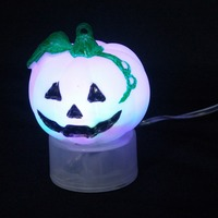 LED Popular item USB battery halloween lighted pumpkins