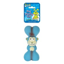 PET SUPPLY LATEX DOG TOY MONKEY BEAR CHICKEN DUCKLING WITH BONE TOY