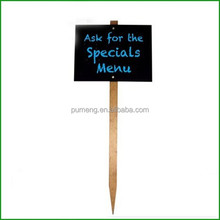 Gardening Decorative Stakes Wooden Sign Board