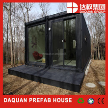 Two set combination container house export factory with EPS/PU/Rock Wool insulation sandwich panel