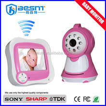 2015 china supplier security camera system Night Vision two-way speaker wireless video baby monitoring devices (BS-W233)