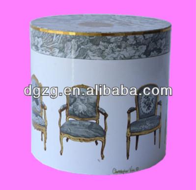 Tube de papier de luxe royal bo te de nourriture pour cosm tiques emballage - Papier cadeau personnalisable ...