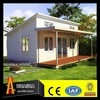 The best quality of container house price prefab glass house