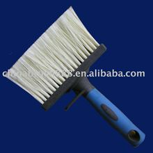 shed and fence brush