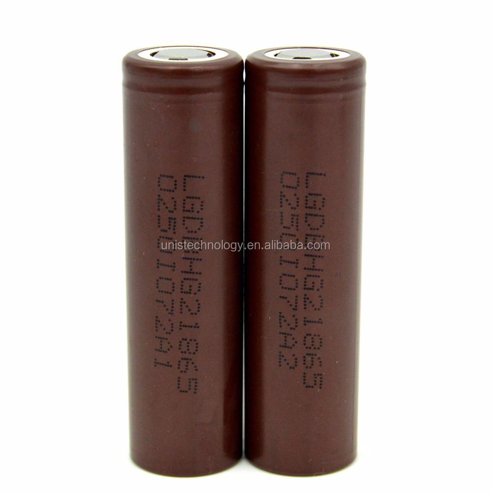 В Наличии! HG2 LG18650 HG2 3000 мАч 20A 3.6 В li ионная аккумуляторная батарея lg18650hg2 использовать для Электронной сигареты