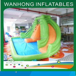 Hot summer water slide inflatable bounce house commercial price