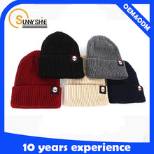 wholesale custom winter hats no logo design your own logo Knitted Cap& Hat