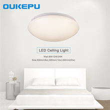 European fashion, high power factor 8w 12w 24w square led ceiling light, LED ceiling light with 2 years warranty