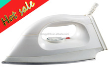 electric clothes iron with non-stick soleplate