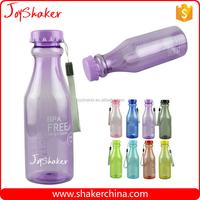 Various Color BPA free Plastic Yogurt Bottles with Custom Logo Print