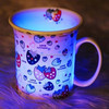 2014 Year Hot Sale 11oz OEM factory directly ceramic fluorescent mug/tea cup/coffee mug/milk cup/white ceramic cup