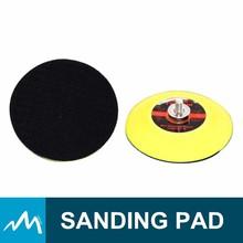 3 pulgadas de Velcro respaldo de la almohadilla de lijado para aire Sander