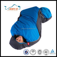 Best Price Free Sample Mummy Minion Sleeping Bags for Cold Weather