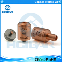 Hcigar ecig electronic high quality 1:1 clone copper atomizer stillare v3 rda