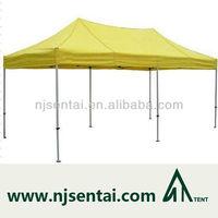 customized printed aluminium folding car cover tent