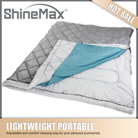 flannel lined sleeping bag for lover