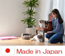 Easy to use and Fashionable outdoor dog kennel designs pet diaper with multiple functions made in Japan