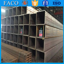 Tianjin square rectangular pipe ! strong subway station using hot sale square steel pipe design