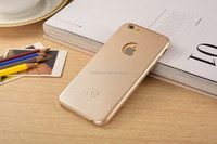 Golden PU Back case for Iphone 6