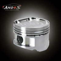 Custom Forged Cast Aluminum Racing Piston for Mazda B6 1.6L 78mm Piston