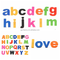 Multicolor Home Decorative Refrigerator Magnets Fashion Kids Toy Lowercase Letters Magnetic Fridge Stickers