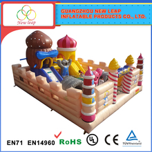 Fits school and other entertainment inflatable amusement park for sale