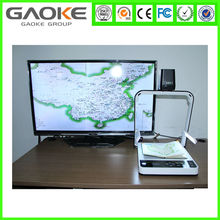 Hot sale office and school supplies a4 a3 size usb document camera with CMOS lens VGA HDMI USB Output