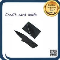 Reasonable price Black credit card knife 100pcs in stainless steel Black credit card knife
