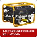 Escova alternador gerador elétrico 2.5kw