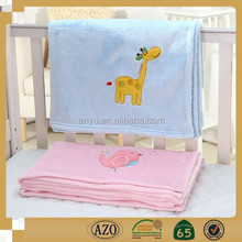 Super Soft and Comfortable Baby Blanket with Coral Fleece