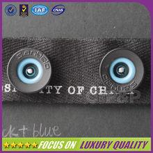 Blue hollow unique snap button type for men clothing